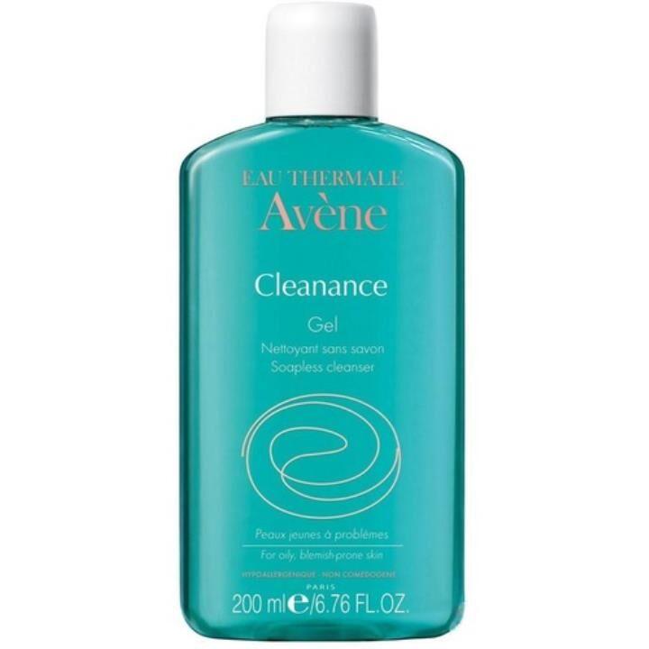 Avene Cleanance Gel Nettoyant 200 ml Yağlı Ciltler İçin Temizleyici