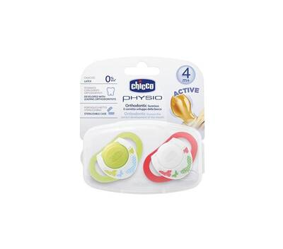 CHICCO PHYSIO ORTHODONTIC PACIFIER 4+ MONTHS