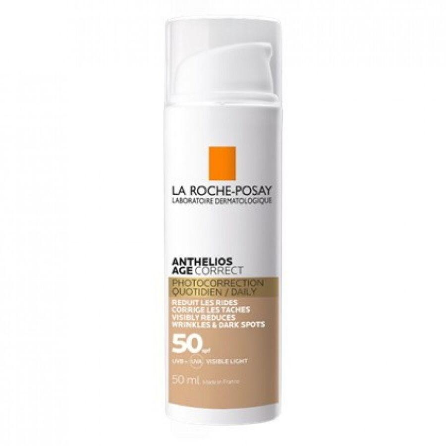 La Roche Posay Anthelios Age Correct SPF 50 Kırışıklık Karşıtı Krem 50 ml - Renkli