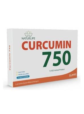 NATURLIFE CURCUMIN 750 -5 GR 15 STICK