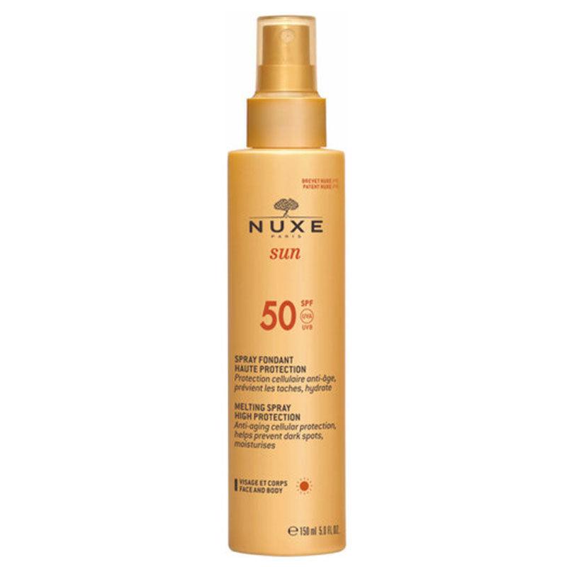 Nuxe Güneş Koruyucu Yüz ve Vücut Sütü Spf 50 150 ml