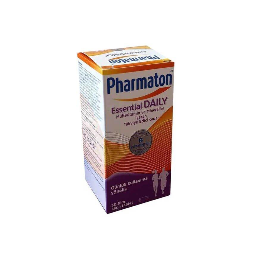 Pharmaton Essential Daily Takviye Edici Gıda 30 Film Kaplı Tablet