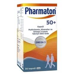 PHARMATON 50+ МУЛЬТИВИТАМИНЫ 50+, 30 таблеток