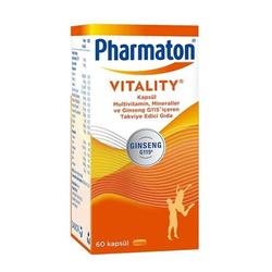 PHARMATON VITALITY МУЛЬТИВИТАМИНЫ 60 таблеток - Thumbnail
