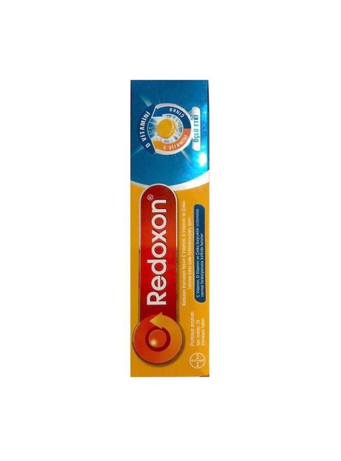 Redoxon Üçlü Etki 1 Takviye Edici Gıda 15 Efervesan Tablet