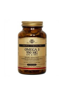 SOLGAR Тройная Омега-3 ЭПК/ДГК, 950 мг