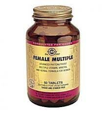 Solgar Female Multiple - 60 Tablet
