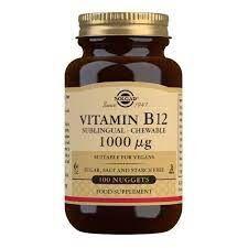 Solgar Vitamin B12 1000 Mcg - 100 Tablet