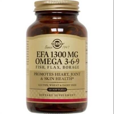 SOLGAR ОМЕГА 3 1300 гр. EPA&DHA 60 капсуль.