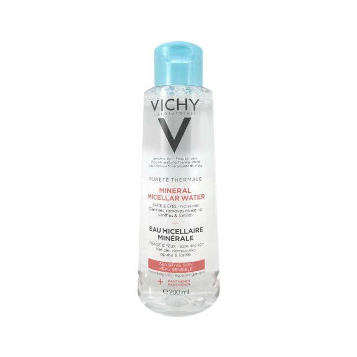 VICHY Мицеллярная вода для чувствительной кожи лица и глаз.
