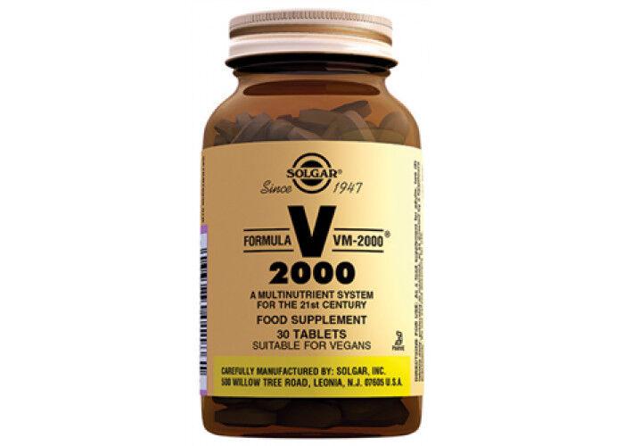 СОЛГАР Мультивитамин VM-2000 30 таблеток.