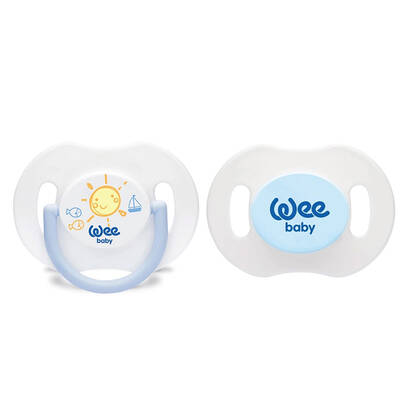 WEE BABY DAY AND NIGHT PACIFIER NO.2