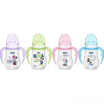 WEE BABY DISNEY BOTTLE WITH HANDLES 250ML