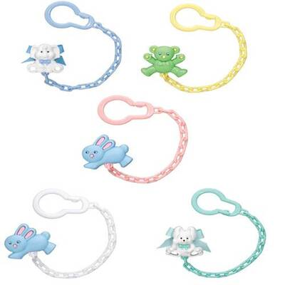 WEE BABY FIGURED PACIFIER STRAP